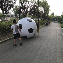 Outdoor large inflatable football kindergarten children's toy beach ball games stage performance props decoration