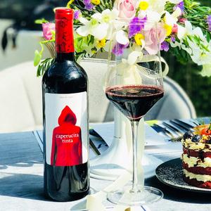 奥兰官方正品 品牌直销 小红帽干红葡萄酒西班牙原瓶进口网红红酒