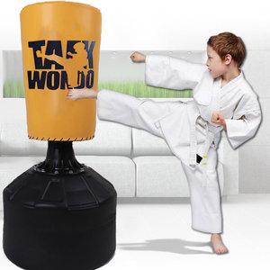 儿童拳击沙袋立式家用散打搏击跆拳道训练器材武术不倒翁沙包袋