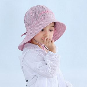 儿童渔夫帽春夏遮阳帽女孩防晒帽薄款夏季婴儿帽子公主宝宝太阳帽