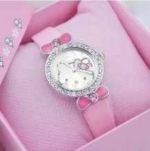 New Korean version, lovely quartz watch, child watch girl, waterproof cartoon girl, Princess table, student electronic watch.