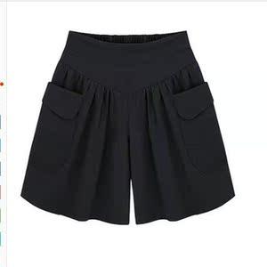 欧美大码<span class=H>女装</span>夏季短<span class=H>裤</span>裙<span class=H>裤</span>胖MM加肥加大码200斤可穿五分<span class=H>裤</span>百搭<span class=H>裤</span>