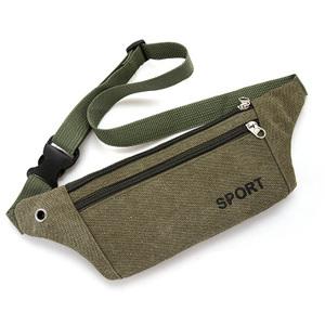 新款休闲包背包个性放钥匙手机包男腰包男包帆布ins小男士斜挎包