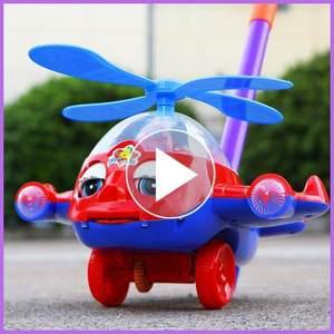 车轮三轮车感应<span class=H>轮子</span>大号响声手推<span class=H>玩具</span>女宝推动幼儿展示儿童男孩