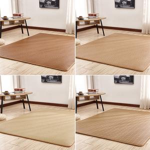 日式夏季客厅卧室<span class=H>地毯</span>瑜伽藤席凉席榻榻米地垫四季儿童爬行垫床垫