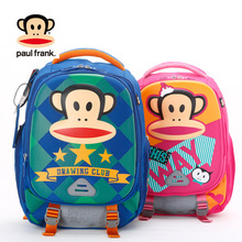 Bigmouth monkey children's schoolbags for boys and girls in Grade 1-3
