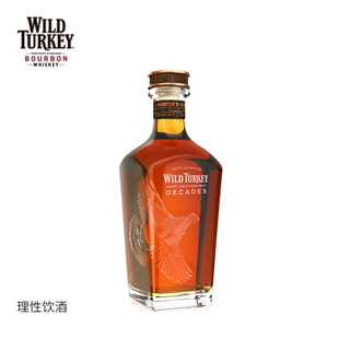WildTurkey威凤凰波本威士忌35周年大师限量版750ml 美国原装进口