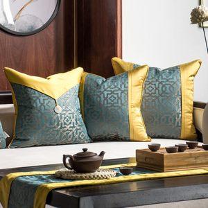 新中式工艺抱枕含芯样板间古典宫廷风软装靠垫家居<span class=H>沙发</span><span class=H>靠枕</span>套