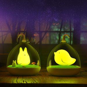 充电款宿舍礼物婴儿卡通大学生悬挂灯具儿童房手提小夜灯儿童无线