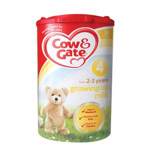 4桶包邮包税英国牛栏四段4段2-3岁进口婴儿<span class=H>奶粉</span>Cow&Gate4段