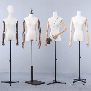 模特道具女半身服装店模特<span class=H>女装</span>橱窗展示架全身<span class=H>婚纱</span>衣服模特架人台