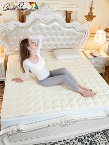 花雨伞A类全棉床护垫宿舍榻榻米垫子席梦思保护垫单双人防滑床褥