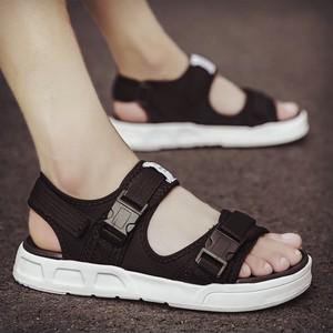 <span class=H>凉鞋</span>男夏季男士沙滩鞋室外潮拖韩版个性外穿凉拖休闲防滑越南拖鞋