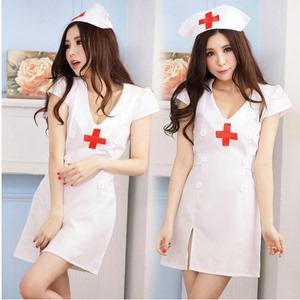 女士情趣内衣 霏慕超清纯护士服 9784 性感内衣公主服套装