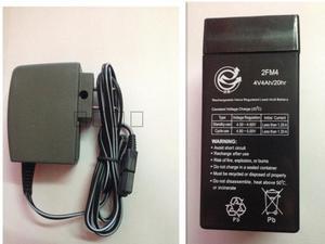 上海友声电子吊秤电瓶 充电器 4V电子秤电瓶 电子称蓄电池