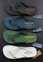 AF new flip-flop men's deer summer color skid-proof and odor-proof rubber outsole men's beach slippers free of domestic freight