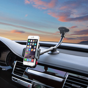 新款埃普LP-3D 车载手机支架加长型iPhone7吸盘式单手操作<span class=H>车架</span>