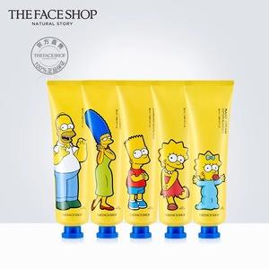 The Face Shop/菲诗小铺辛普森限量版<span class=H>护手霜</span> 清爽 ?#20449;?#22799;季 2支装