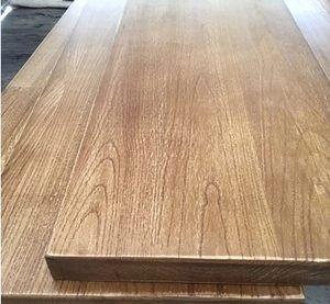实木板定制松木老榆木办公桌吧台面长方形原木一字<span class=H>隔板</span>置物架定做