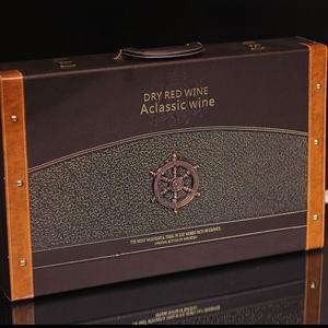 法国进口<span class=H>红酒</span>路易拉菲2010 6支整箱<span class=H>干红</span>葡萄酒送皮箱<span class=H>礼盒</span>套装