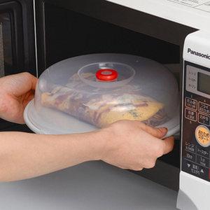 日本进口inomata微波炉加热盖 塑料菜罩冰箱保鲜<span class=H>盖子</span>防尘<span class=H>盖碗</span>盘罩