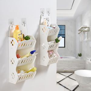 浴室多层置物架免打孔卫生间收纳架洗手间洗漱台家居<span class=H>用品</span>厕所卫浴