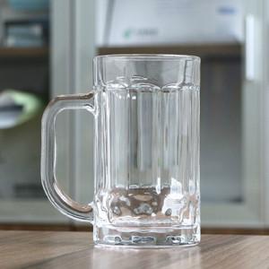 特价加厚玻璃把杯<span class=H>啤酒杯</span>饮料<span class=H>手柄</span>扎杯精品礼品杯茶楼专用