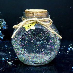星星瓶子大号玻璃瓶夜光520生日礼物创意送男友幸运星折纸条手工