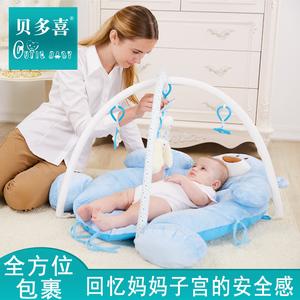 领30元券购买脚踏钢琴婴儿健身架器宝宝音乐游戏毯新生儿玩具满月礼物0-12个月