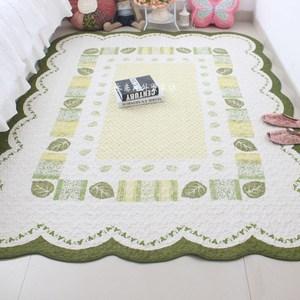 韩式田园居家布艺纯棉加厚卧室客厅<span class=H>地垫</span>地毯宝宝爬行垫沙发整体垫