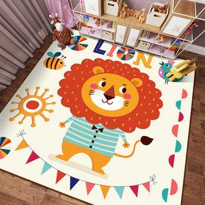 客厅双面环保学步<span class=H>睡垫</span>便携宝宝爬行垫防水可擦夏天游戏薄款儿童