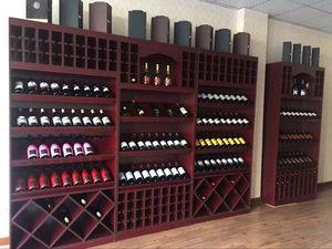 木质架红酒展柜实木展示架木制货架精品红酒展柜定做红酒柜展示柜