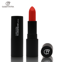 QUEEN PATRA soft, durable lipstick, velvet moisturizing, waterproof, non stick, cup, non staining, matte, fog face lipstick.