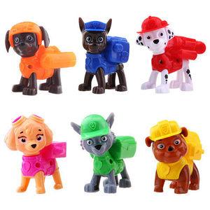 汪汪队6只狗狗套装玩具