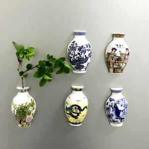 定制 中国风花造型 陶瓷<span class=H>冰箱贴</span> 磁铁 家居装饰商务外事出国小礼品