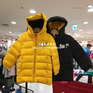 韩国专柜正品COCORITA童装2018冬款男女宝中长款<span class=H>羽绒服</span>CEJD18TE4