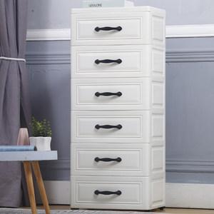 多层塑料抽屉式收纳柜子厨房客厅整理卫生间储物置物架卧室床头柜