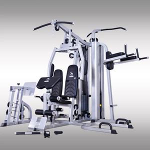 JX商用大型综合训练器 多功能运动训练健身器材家用器械六人站