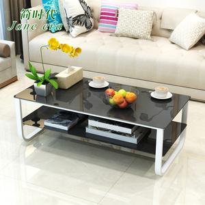 玻璃<span class=H>茶几</span>简约现代客厅个性<span class=H>家具</span>组合创意小户型简易方形办公室桌子