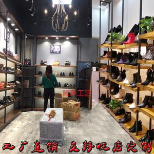 商场鞋店鞋架多功能展示架店铺童鞋包包陈列柜实木置物落地式<span class=H>货架</span>