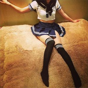 清纯甜美性感学生装情趣内衣 角色扮演可爱女士极度制服诱惑套装