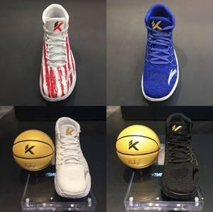 安踏男鞋篮球鞋克莱汤普森3代KT3总决赛高帮<span class=H>战靴</span>11831101-1-2-3-4