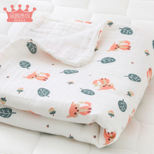 Baby hugs newborn newborns spring, autumn and winter thickening summer thin gauze baby quilt cotton supplies