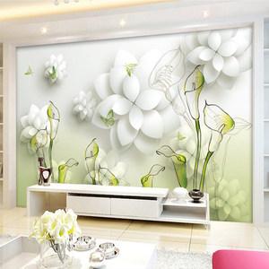 3D客厅电视瓷砖背景墙简约现代沙发餐厅影视墙砖立体雕刻文化墙画
