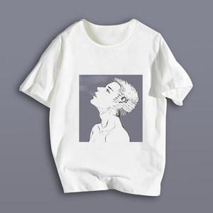 蒋丞同款短袖牙总巫哲撒野夏季半袖衫二次元青少年休闲<span class=H>T恤</span>男女款