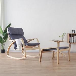 北欧波昂<span class=H>摇椅</span>懒人沙发阳台椅休闲椅孕妇躺椅成人家用扶手椅子简约