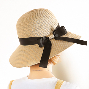 帽子女韩版潮草帽遮阳防晒可折叠