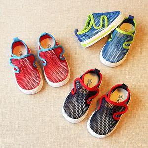 18年新款透气儿童网鞋防滑软底小童沙滩鞋男童鞋子夏宝宝<span class=H>凉鞋</span>包头