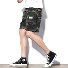 Cotton Shorts Men's Summer Thin Korean Edition Trendy Loose Casual Five-point Trousers Beach Trousers Running Sports Pants