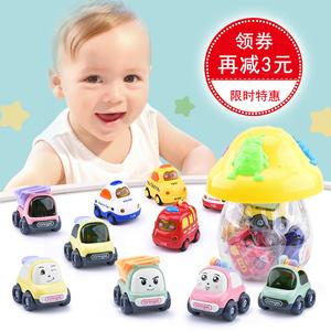 婴儿玩具车模型儿童惯性音乐小<span class=H>汽车</span>1-2周岁宝宝回力工程车男孩